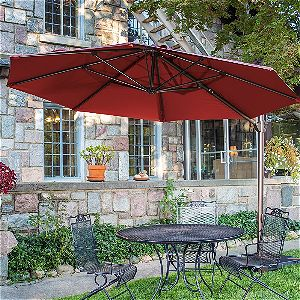 Abba Patio 11ft Cantilever Umbrella