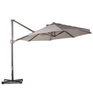 An Overhang Patio Umbrella by Abba Patio