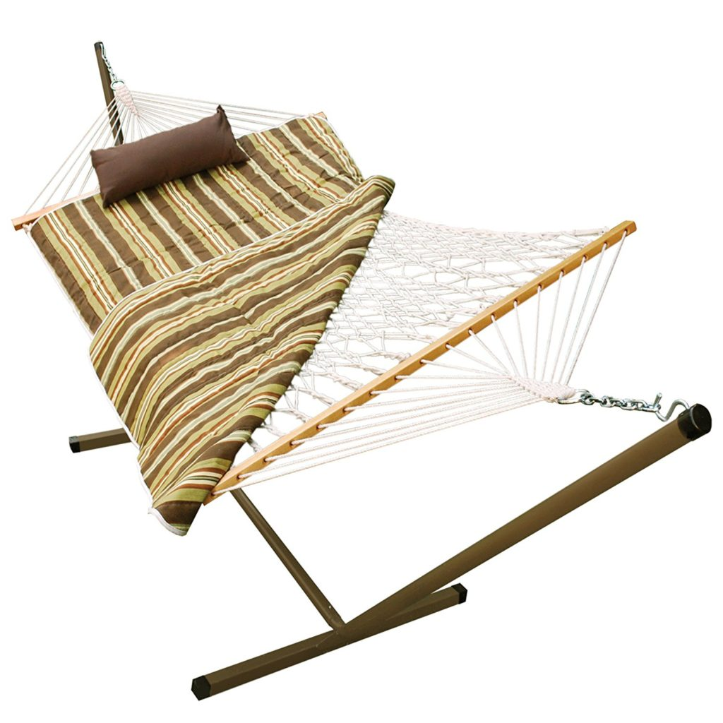 Algoma Hammock with Stand, with Pad and Pillow