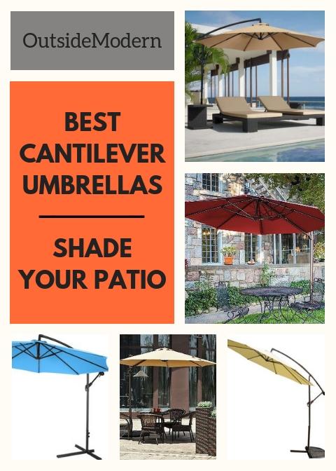 18e3c5c62e27 Best Cantilever Umbrella. 7 Best Offset Umbrella Reviews | OutsideModern