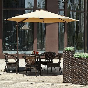 Le Papillon 10 Ft Cantilever Umbrella