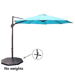 Le Papillon 10ft Offset Umbrella Blue