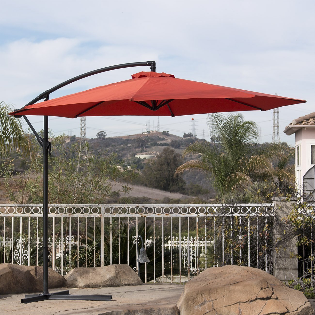 Best Cantilever Umbrella Best Offset Umbrella Reviews