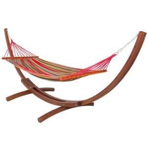 Runner Up Best Hammock with Wooden Stand