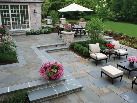 Paver Decking. Source: Pinterest
