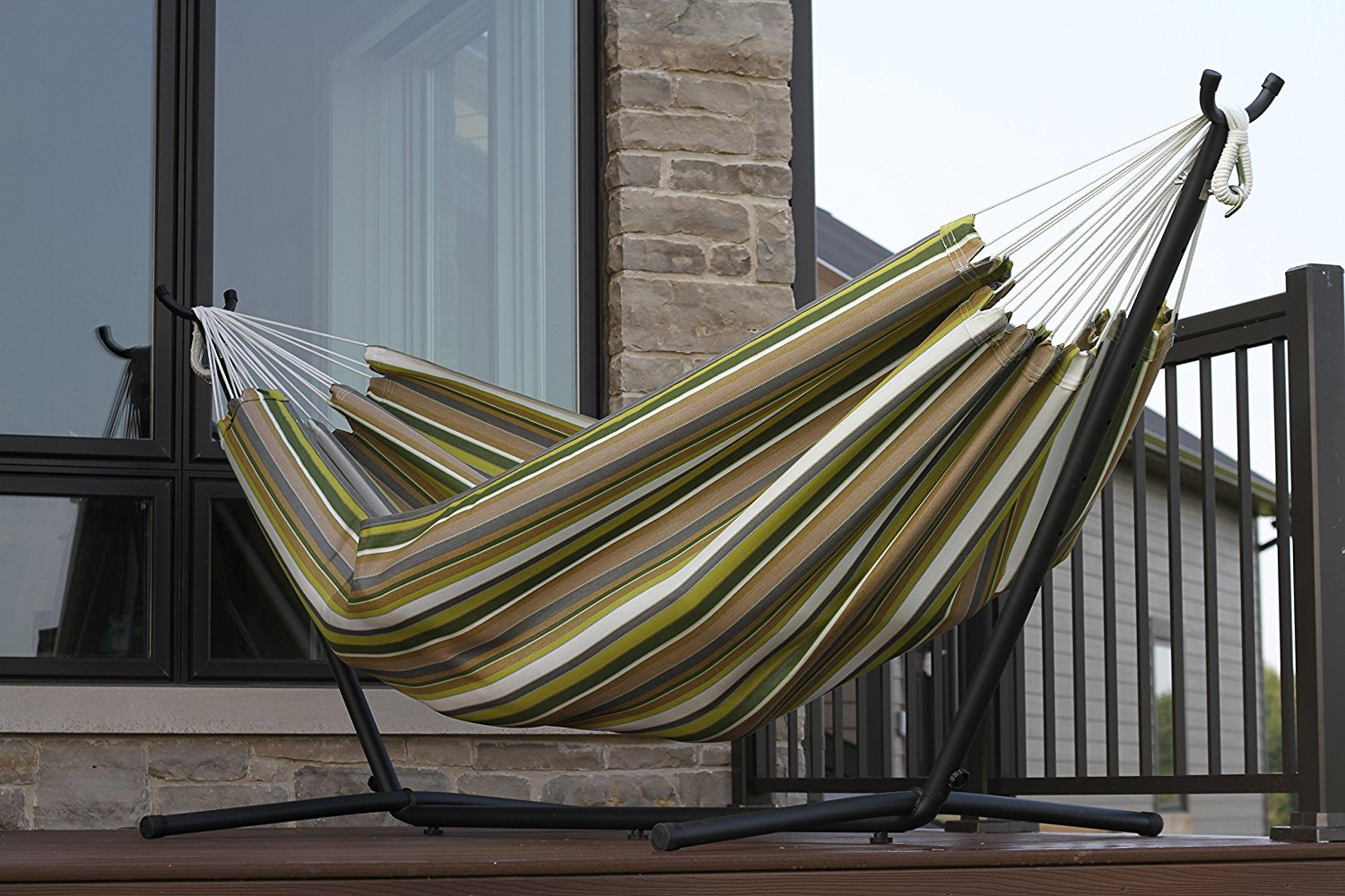 The Best Hammock with Stand: Vivere Double Hammock with Stand