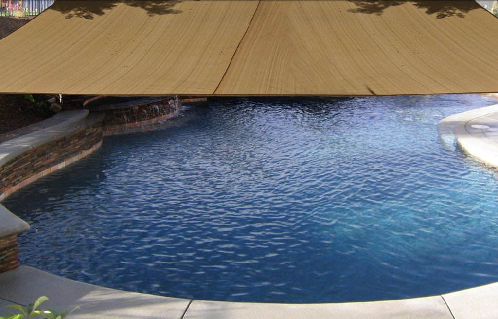 Square 18x18 ft Sun Sail Shade Cover - Tan