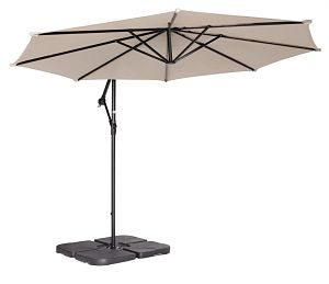 Coolaroo Cantilever Umbrella Weight in Action