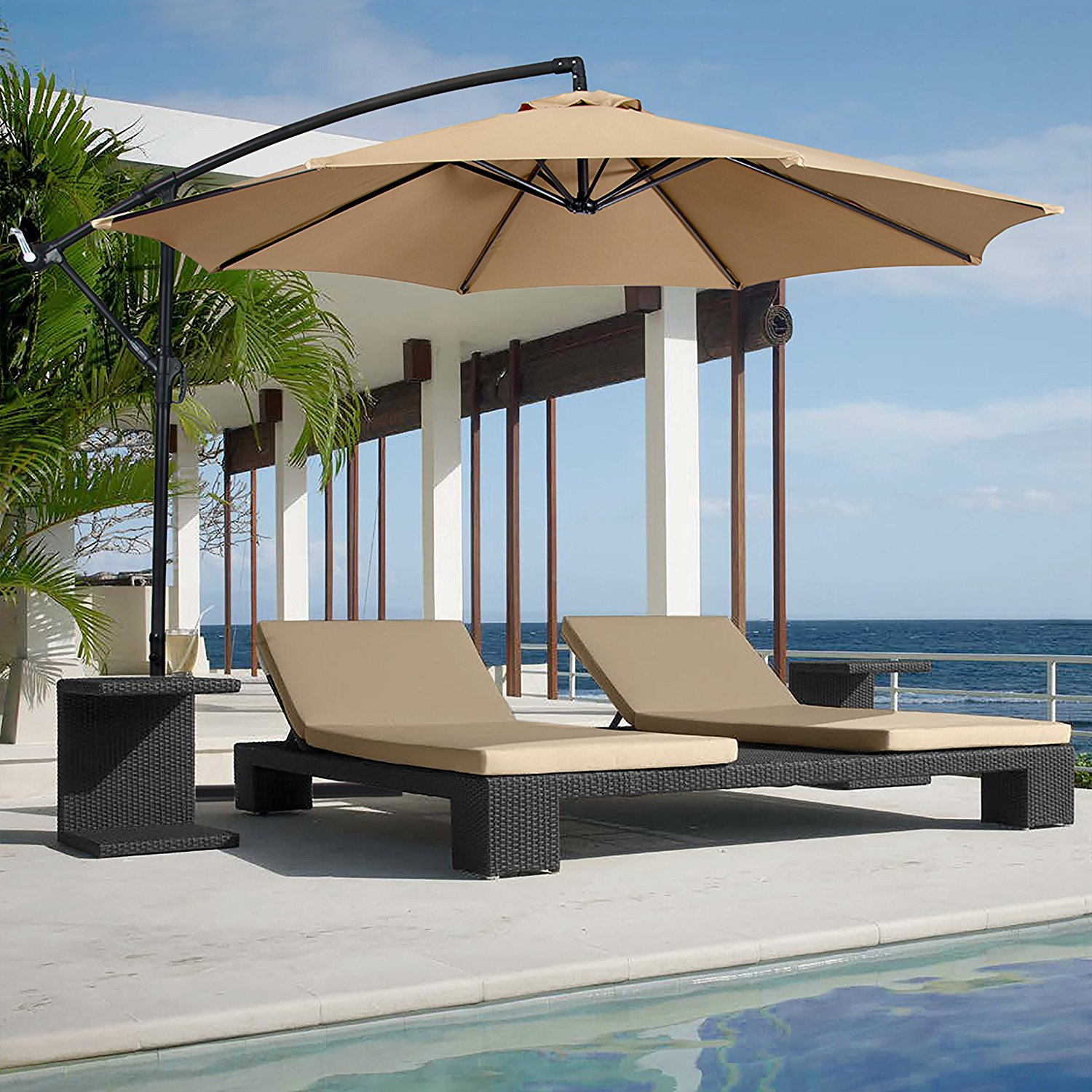 BestChoice Products 10' Cantilever Umbrella