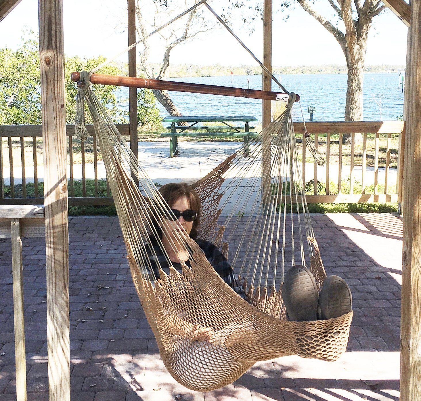 Krazy Outdoors Mayan-Style Large Hammock Swing Chair