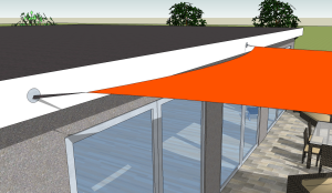 Mounting Shade Sail on Fascia