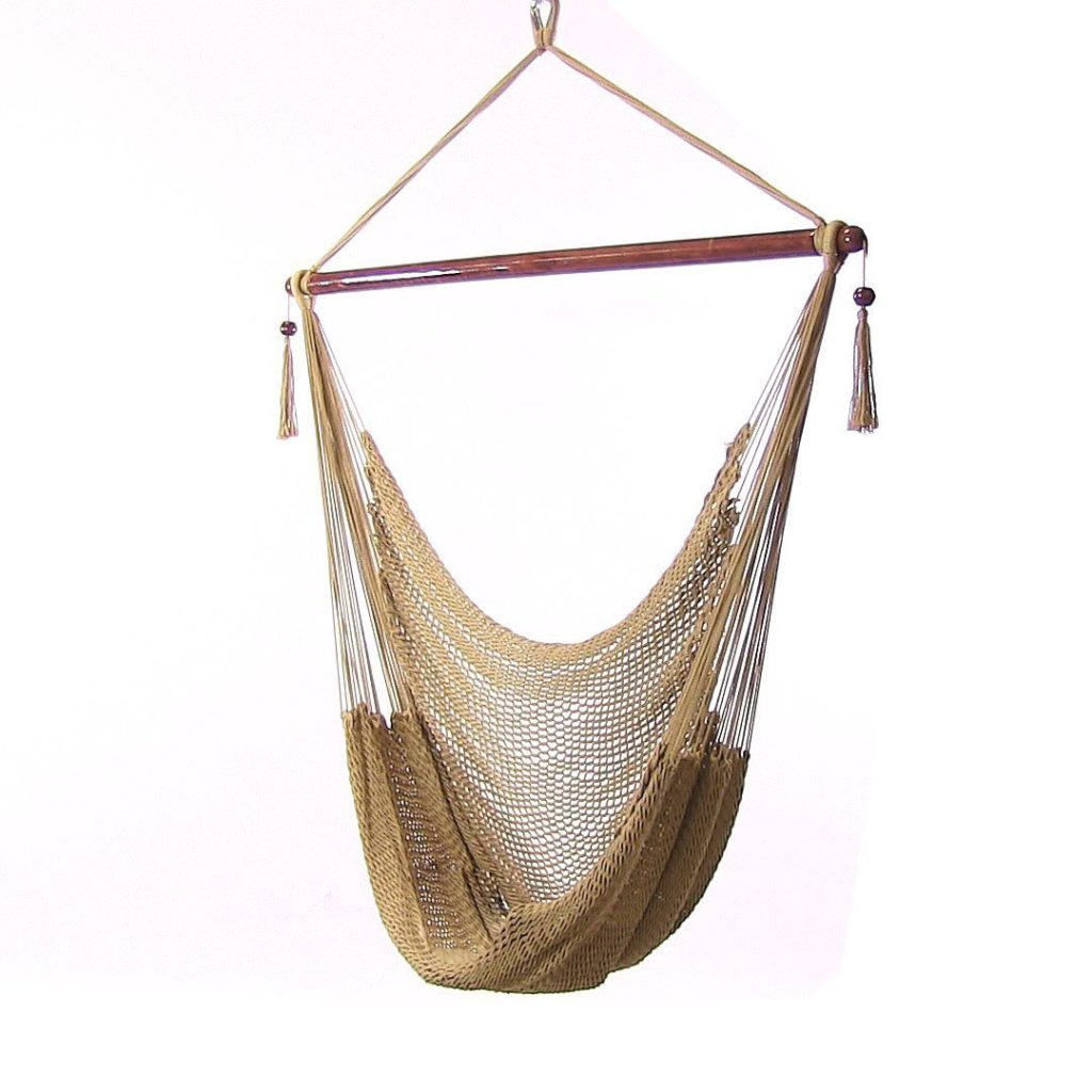 Sunnydaze Hanging Caribbean XL Hammock Chair. Swinging on the Breeze with the Best Hammock Chairs