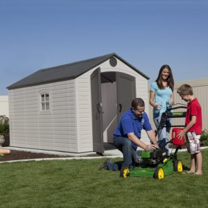 Happy Family and Lifetime 6402 Shed