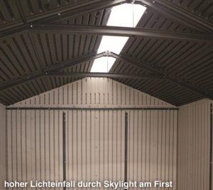 Lifetime 60057 Interior and Skylight