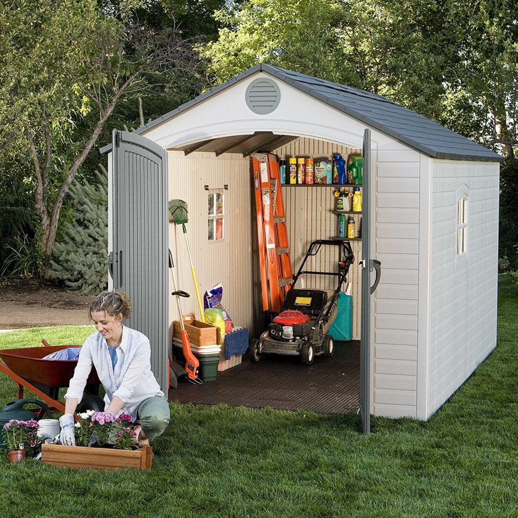 What are the best backyard sheds best resin storage shed for Outdoor garden shed