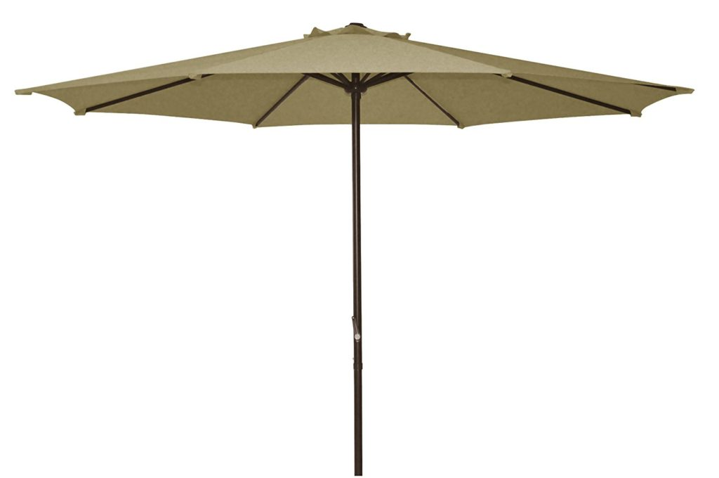 Ace Evert Market Umbrella 8011S, 9 ft, Polyester, Beige - The Best Patio Umbrellas For 2017. Market Umbrella - OutsideModern
