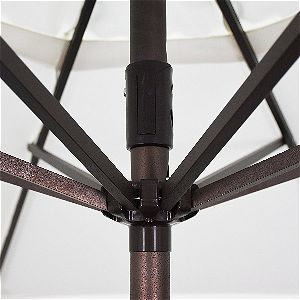 California Umbrella Rib Detail
