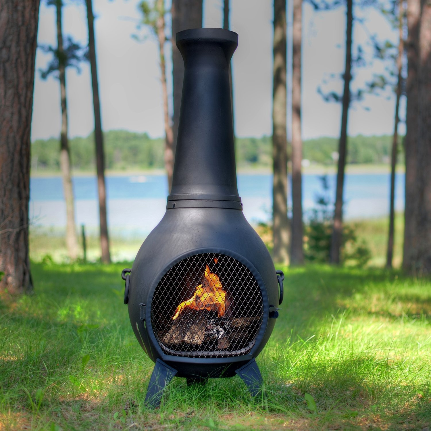 - Want To Buy A Chiminea, Fire Pit, Or Ethanol Fireplace? - OutsideModern