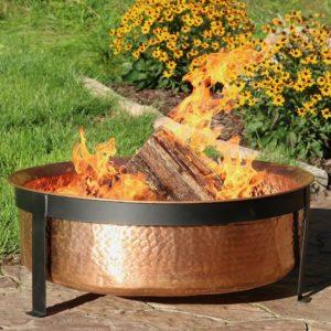 A Copper Fire Pit