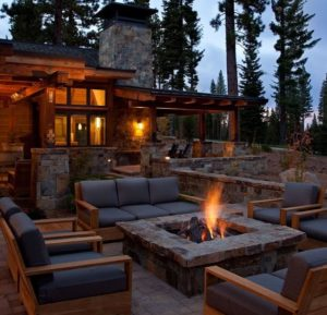 A Beautiful Fire Pit