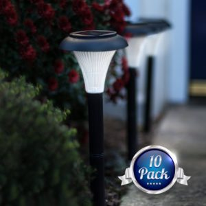 Garden Joy 10 Pack Outdoor Garden Lights