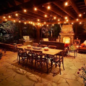 Best outdoor string lights for the patio and the garden outsidemodern festive patio lights string lights on a pergola workwithnaturefo