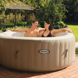 """Best of the Cheap Hot Tubs Under $500: Intex PureSpa 77"""""""