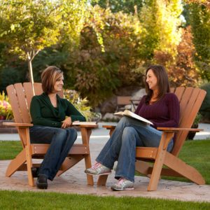Runner Up Best Budget CPVC Adirondack Chair: The Lifetime Adirondack Chair