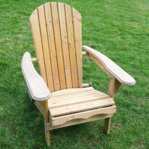 Runner Up Best Budget Wooden Adirondack Chair: Merry Garden Folding Adirondack Chair