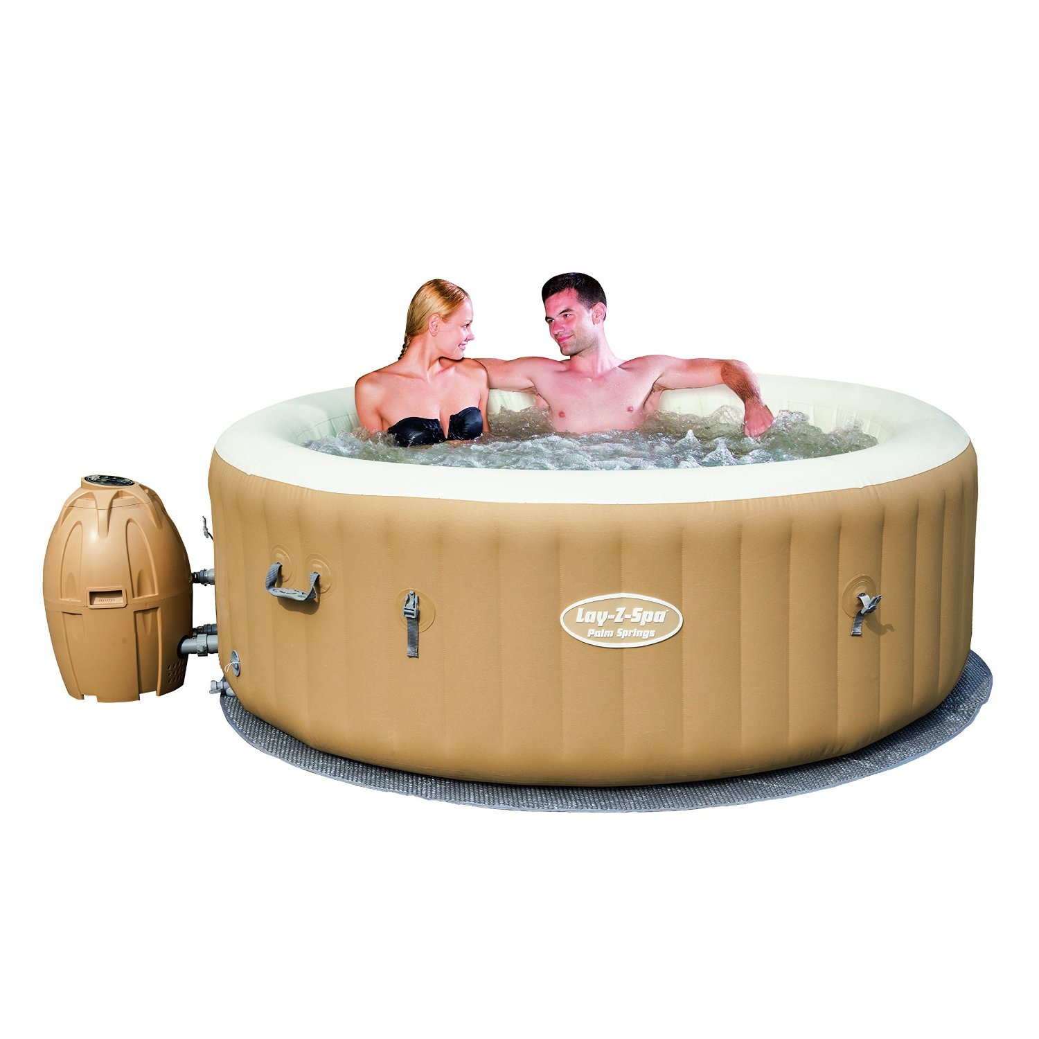 Best Inflatable Hot Tub. Portable Spa Reviews - OutsideModern