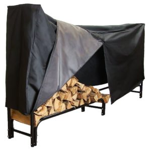 A Contender for Best Firewood Rack!