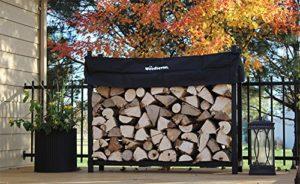 Wood Seasoning on a Firewood Rack