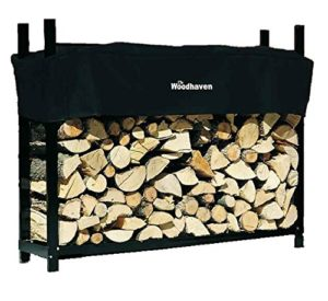 Woodhaven 5' Firewood Rack The Best Firewood Log Rack