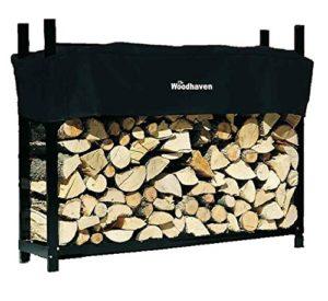 Woodhaven 5' Firewood Rack The Best Firewood Log Rack