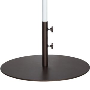 A Low Profile Market Umbrella Base