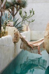 A Beautiful Fringe Hammock. Source: Pinterest