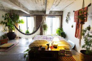 Ceiling Mounted Hammock. Source: Pinterest