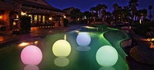 Cool Floating Pool Lights