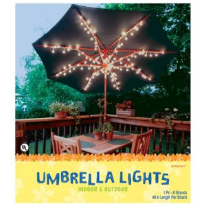 Best Umbrella Lights 5 Top Patio Umbrella Lights