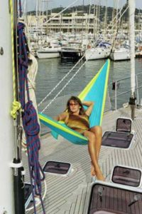 Diagonal Position on Hammock. Source: Wikipedia