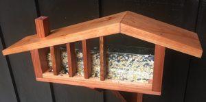 Mid Century Modern Ranch Bird Feeder