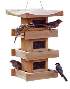Naturalyards Pagoda Bird Feeder 3 Level