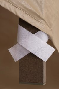 Protective Covers Velcro Strap Detail