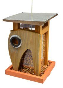 Rosso International Art Deco Bird Feeder