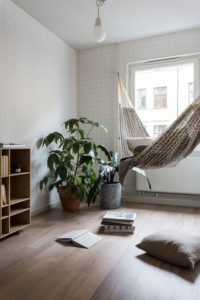 Small Space Hammock Source: Pinterest