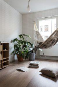 Small Space Hammock Source: Pinterest