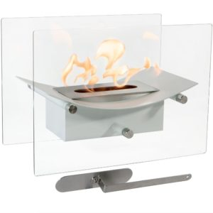 Sunnydaze Zen Ventless Tabletop Bio Ethanol Fireplace