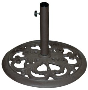 TropiShade 30lb Decorative Patio Umbrella Base