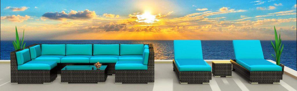 Urban Furnishings Ibiza Patio Set