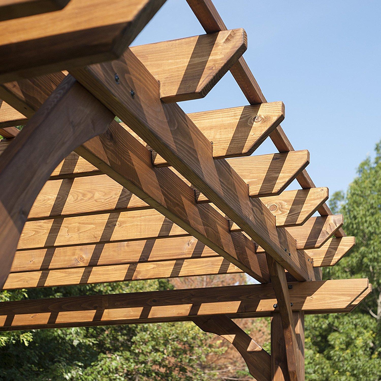 Backyard Discovery Cedar Pergola Detail